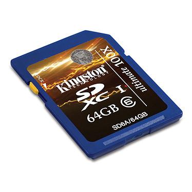 Kingston SDXC Class 6 Ultimate 64 GB Kingston SDXC Ultimate 64 Go - Class 6 (garantie 10 ans par Kingston)