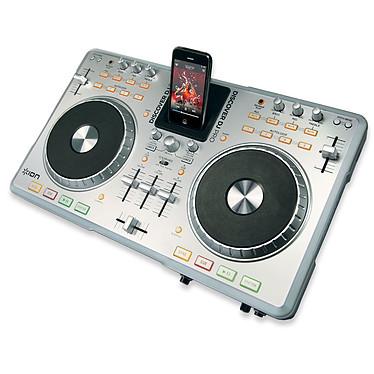 Ion Discover DJ Pro Table de mixage sur port USB avec station d'accueil iPod/iPhone