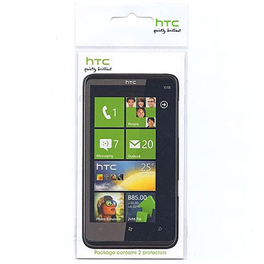 HTC SP P410  Lot de 2 Ecrans de protection pour HTC 7 Trophy
