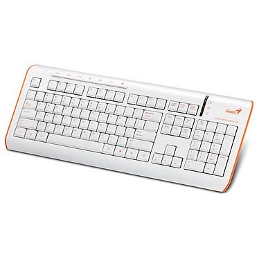 Genius SlimStar S325 Blanc / Orange Genius SlimStar S325 - Blanc / Orange (AZERTY Français)