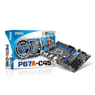 MSI P67A-C45 (Rev. B3) Carte mère ATX Socket 1155 Intel P67 Express Revision B3
