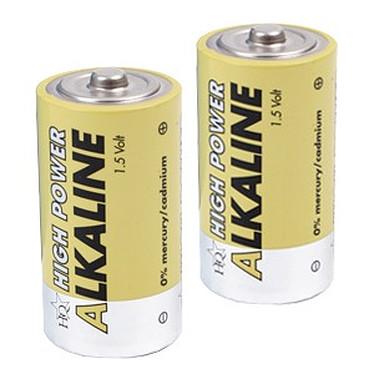 Piles alcalines LR20 - D - 1.5V (par 2) Piles alcalines LR20 - D - 1.5V (par 2)