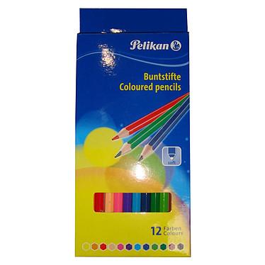 Pelikan boite de 12 crayons de couleur