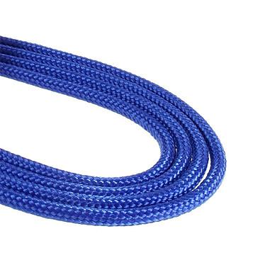 BitFenix Alchemy Blue - Cable de alimentación con funda - Molex a 4x SATA - 20 cm a bajo precio