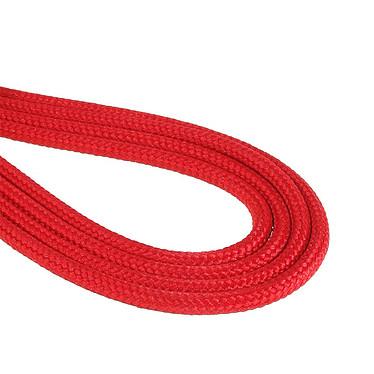 Avis BitFenix Alchemy Red - Câble d'alimentation gainé - Molex vers 4x SATA - 20 cm