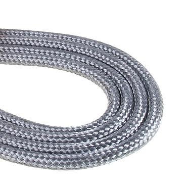 Avis BitFenix Alchemy Silver - Câble d'alimentation gainé - Molex vers 4x SATA - 20 cm