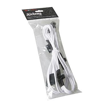 Acheter BitFenix Alchemy White - Câble d'alimentation gainé - Molex vers 4x SATA - 20 cm