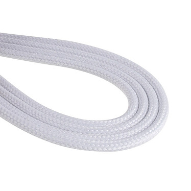 Avis BitFenix Alchemy White - Câble d'alimentation gainé - Molex vers 4x SATA - 20 cm