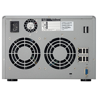 Cisco Small Business NSS 326 Cisco Small Business NSS 326 - Serveur NAS 6 baies - 6 To (6x 1 To)