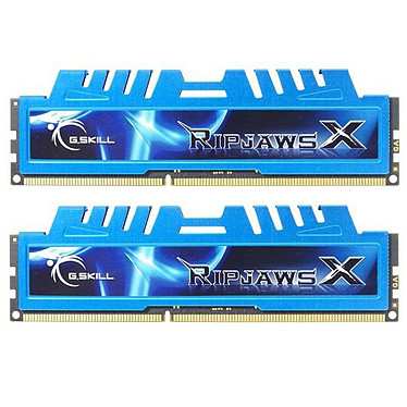 G.Skill XM Series RipJaws X Series 16 Go (kit 2 x 8 Go) DDR3 1600 MHz CL9 Kit Dual Channel DDR3 PC3-12800 - F3-1600C9D-16GXM
