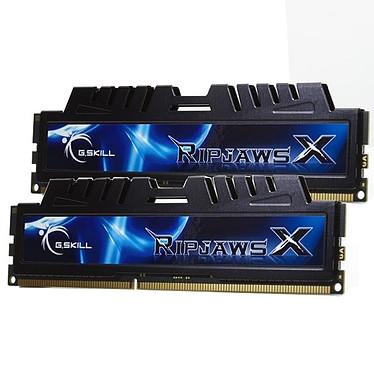 G.Skill XH Series RipJaws X Series 8 Go (kit 2x 4 Go) DDR3 1333 MHz G.Skill XH Series RipJaws X Series 8 Go (kit 2x 4 Go) DDR3-SDRAM PC3-10600 - F3-10666CL7D-8GBXH (garantie 10 ans par G.Skill)