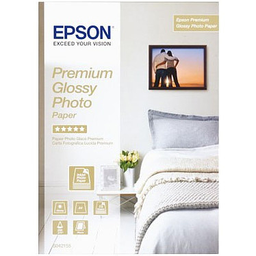 Epson Premium Photo Quality Papel Brillante Epson C13S042155 - Papel brillante de alta calidad A4 255 g/m² (15 hojas)
