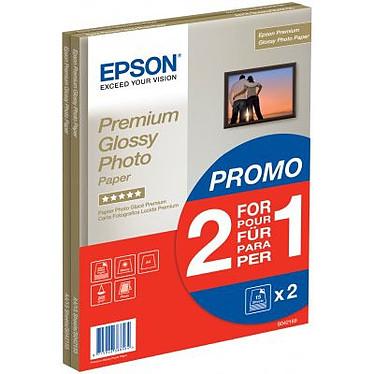 Epson C13S042169 Epson C13S042169 - Papel brillante de calidad fotográfica Premium A4 255 g/m² (30 hojas) - Pack promo: 2 por 1