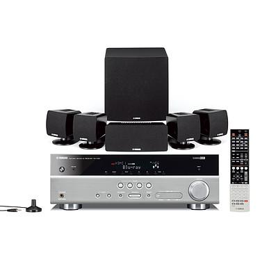Yamaha AV-4117 Titane/noir Yamaha AV-4117 Titane/noir - Ensemble Ampli-tuner Home Cinema 5.1 3D Ready avec HDMI 1.4 et Décodeurs HD + Enceintes 5.1
