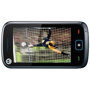 """Motorola EX122 Steel Grey Motorola EX122 Steel Grey - Smartphone 2G avec écran tactile 3.2"""""""
