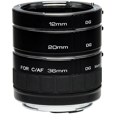 Kenko Teleplus Extension Tube Set DG monture Nikon Tubes d'extension macro 12/20/36 mm