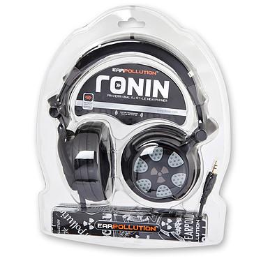 iFrogz EarPollution Ronin Midnight Casque circum-auriculaire fermé