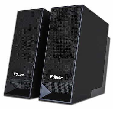 Edifier Prime Noir Edifier Prime Noir - Enceintes 2.0 avec hub USB