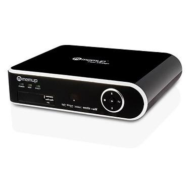 Memup MediaDisk FX TV HD 1 To Memup MediaDisk FX TV HD 1 To - Jukebox multimédia tuner TNT HD