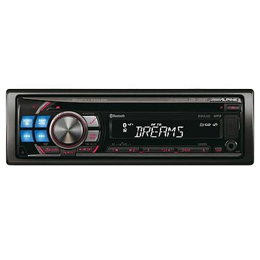 Alpine CDE-125BTi Alpine CDE-125BTi - Autoradio CD/MP3 avec port USB et fonction iPod et Bluetooth (4x 50W)