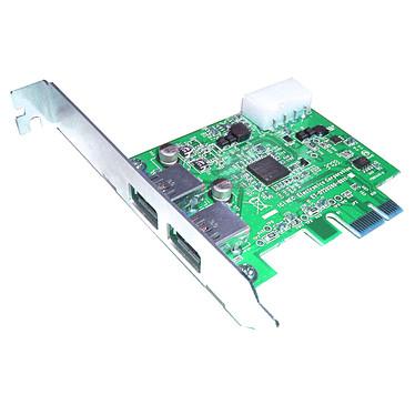 Carte contrôleur PCI-E 2 ports USB 3.0