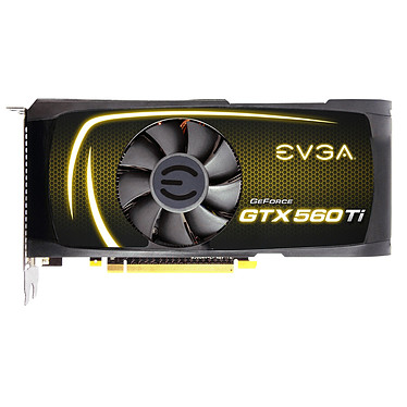 EVGA GeForce GTX 560 Ti FPB 1024MB EVGA GeForce GTX 560 Ti FPB - 1024 Mo Dual DVI/Mini HDMI - PCI Express (NVIDIA GeForce avec CUDA GTX 560 Ti)