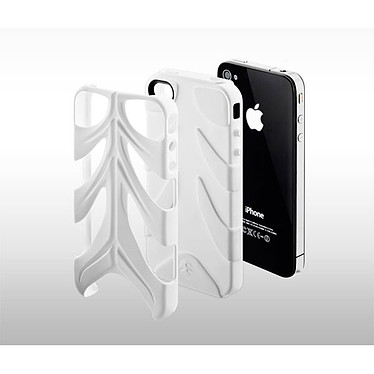 SwitchEasy Rebel Capsule Blanc SwitchEasy Rebel Capsule Blanc - Protection pour iPhone 4