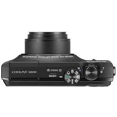 Avis Nikon Coolpix S8100 Noir