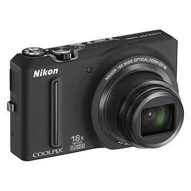 Nikon Coolpix S9100 Noir Appareil photo 12.1 MP - Zoom 18x - Vidéo Full HD