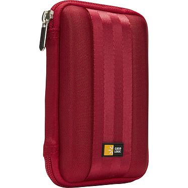 Case Logic QHDC-101R Étui semi-rigide pour disque dur externe 2.5'' (coloris rouge)