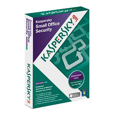 Kaspersky Small Office Security 2 Kaspersky Small Office Security 2 - Licence 1 an 1 serveur + 5 postes (français, WINDOWS)