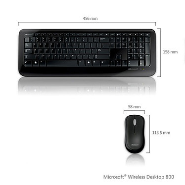 Microsoft Wireless Desktop 800 Microsoft Wireless Desktop 800 (AZERTY Français)