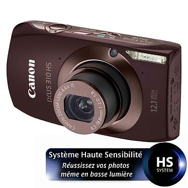 Canon IXUS 310 HS Marron Canon IXUS 310 HS Marron - Appareil photo 12 MP - Zoom Ultra grand-angle 4.4x - Vidéo Full HD - Ecran tactile