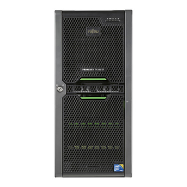Fujitsu PRIMERGY TX150 S7 Intel Xeon X3430 4 Go 500 Go (2x 250 Go) SAS Graveur DVD Alimentation 450W - Tour (5U)