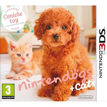Nintendogs + cats : Caniche toy & ses nouveaux amis (Nintendo 3DS) Nintendogs + cats : Caniche toy & ses nouveaux amis (Nintendo 3DS)