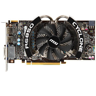 Avis MSI R6850 Cyclone 1GD5 Power Edition/OC