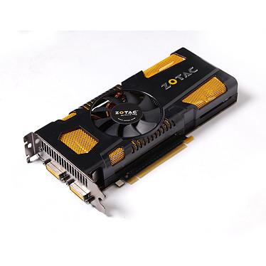 ZOTAC GeForce GTX560 Ti AMP! Edition 1024MB ZOTAC GeForce GTX560 Ti AMP! Edition - 1024 Mo Dual DVI/Mini HDMI - PCI Express (NVIDIA GeForce avec CUDA GTX 560 Ti)