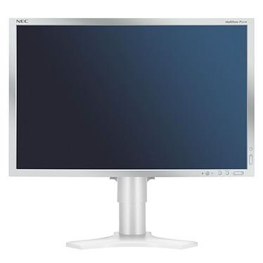 """NEC 23"""" LCD - MultiSync P221W 1680 x 1050 pixels - 16 ms - Format large 16/10 - Dalle PVA - Pivot - Argent (garantie constructeur 3 ans)"""