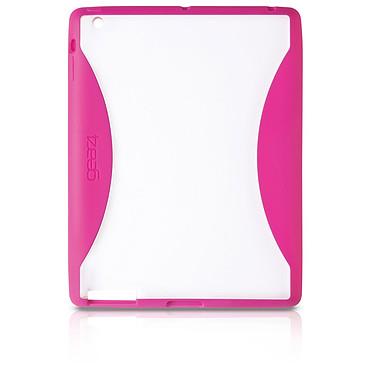 Gear4 IceBox Edge Transparent et Rose Coque pour iPad2