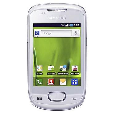 "Samsung Galaxy Mini GT-S5570 Blanc Smartphone 3G+ avec écran tactile 3.14"" sous Android"