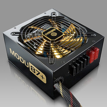 Enermax MODU87 80PLUS Gold + EMG500AWT-LOT6 Alimentation 500W ATX12V / EPS12V (1 ventilateur 139 mm) - ErP Lot 6 Ready - 80 PLUS Gold