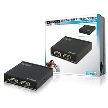 Emetteur VGA + Audio sur câble Ethernet jusqu'à 300 m