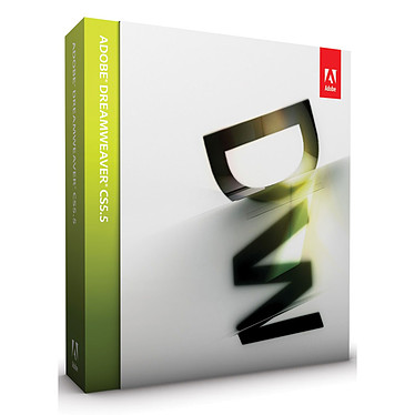 Adobe Dreamweaver CS5.5 Mac Adobe Dreamweaver CS5.5 (français, MAC OS)