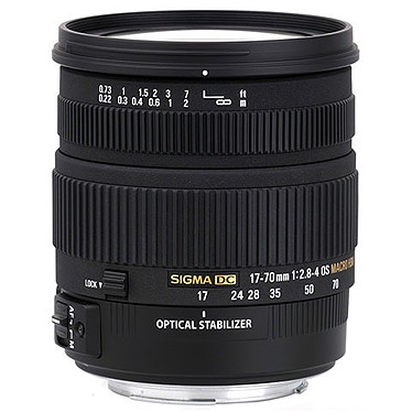 Sigma 17-70mm F2,8-4 DC Macro OS HSM monture Canon Zoom standard expert