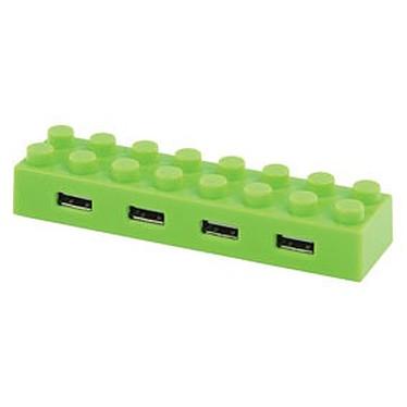 """Hub """"block"""" 4 ports USB 2.0 (coloris vert) Hub """"block"""" 4 ports USB 2.0 (coloris vert)"""