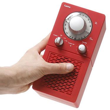 Scansonic P2500 Rose Radio FM/AM portable