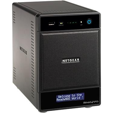Netgear ReadyNAS Ultra 4 Plus Serveur NAS multimédia 4 baies (sans disque dur) - Garantie constructeur 3 ans