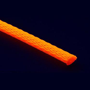 Gaine tressée extensible orange diamètre 3 mm (5 mètres) Gaine tressée extensible orange diamètre 3 mm (5 mètres)