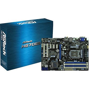 ASRock H67DE3 Carte mère ATX Socket 1155 Intel H67 Express - SATA 6 Gbps - USB 3.0