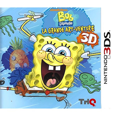 Bob L'Eponge : La Grande Art-venture Bob L'Eponge : La Grande Art-venture (Nintendo 3DS)